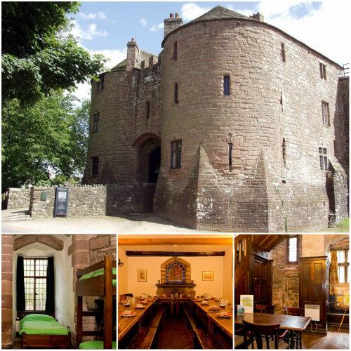 16. YHA St Briavels Castle, Gloucestershire (Wielka Brytania) 20 najbardziej fenomenalnych hosteli Europy