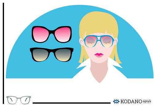 4 Jak wybrac okulary korekcyjne i przeciwsłoneczne do ksztaltu twarzy twarz owalna Modne okulary korekcyjne trendy