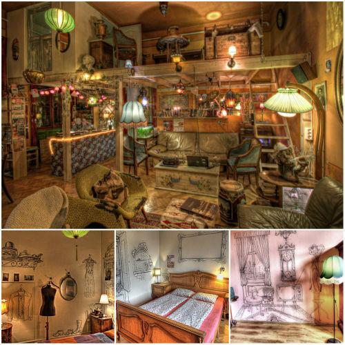 4. Lavender Circus Hostel, Budapeszt (Wegry) 20 najbardziej fenomenalnych hosteli Europy