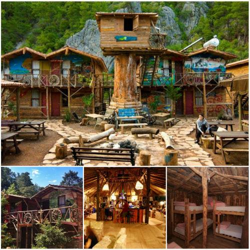 8. Kadir's Tree Houses Kadirin Agac Evleri - Olympos, Antalya (Turcja) 20 najbardziej fenomenalnych hosteli Europy