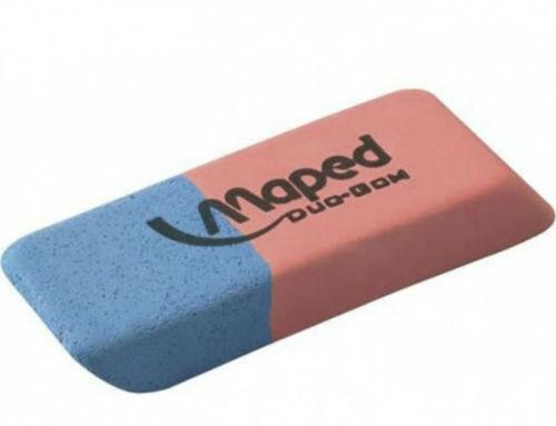 6. Niebieska połówka gumki do ścierania