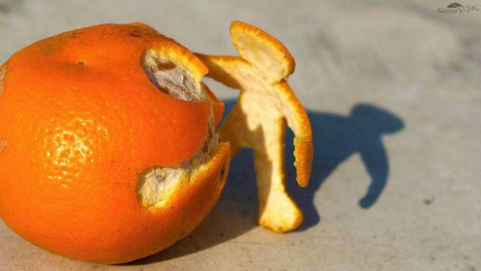 Drugie życie skórki z pomarańczy