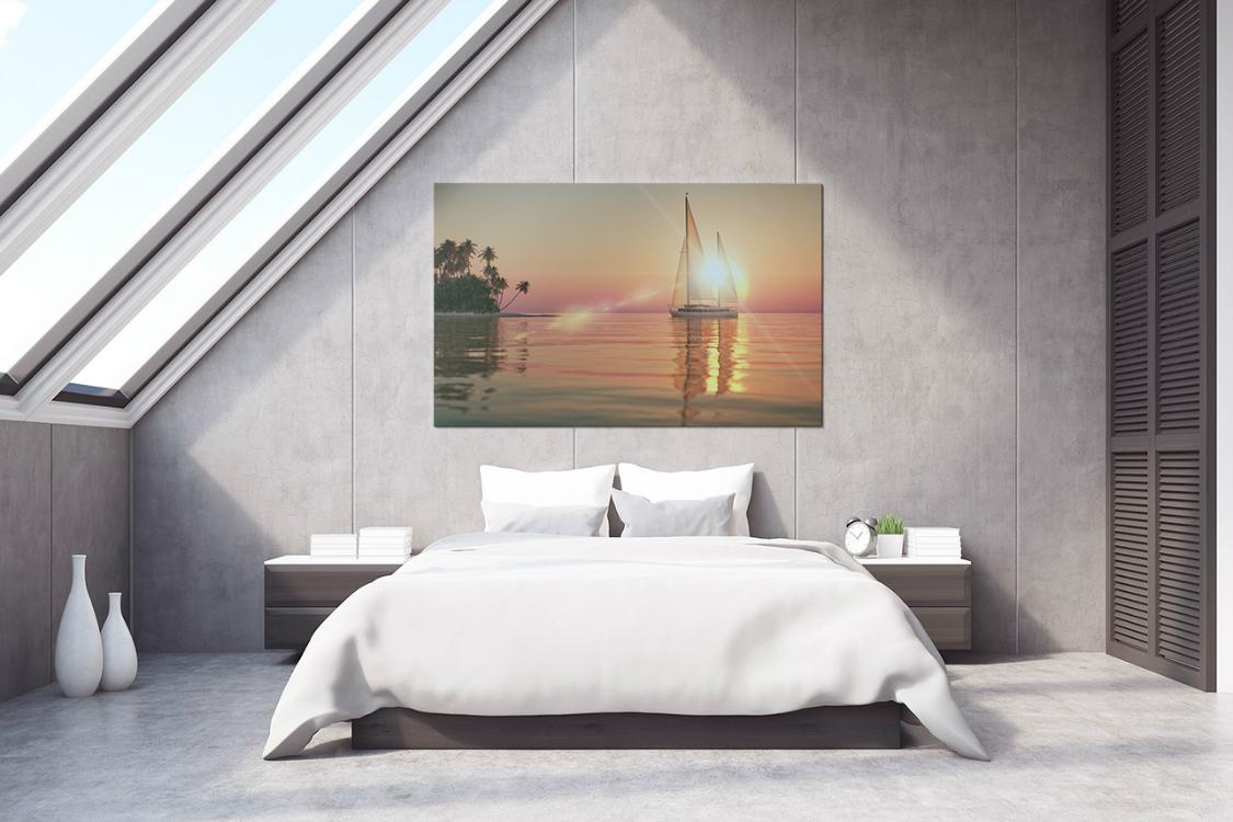 Obrazy do sypialni nad łóżko Allegro jako dekoracyjny akcent we wnętrzu Redro opinie